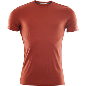 Aclima LightWool T-Shirt Men red ochre